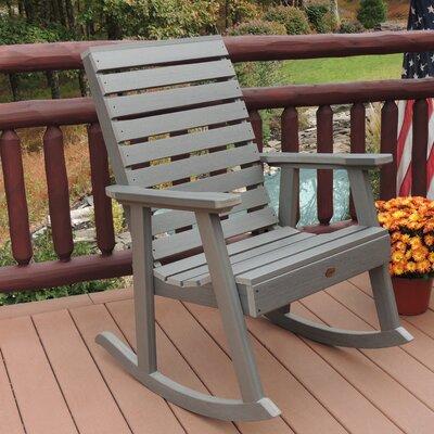 Berry Rocking Chair Color: Coastal Teak