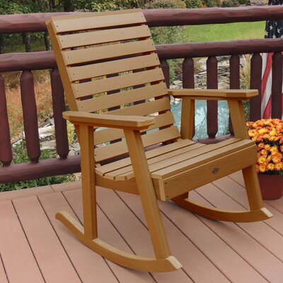 Berry Rocking Chair Color: Toffee