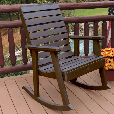 Berry Rocking Chair Color: Weathered Acorn