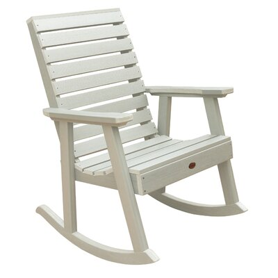 Berry Rocking Chair Color: Whitewash