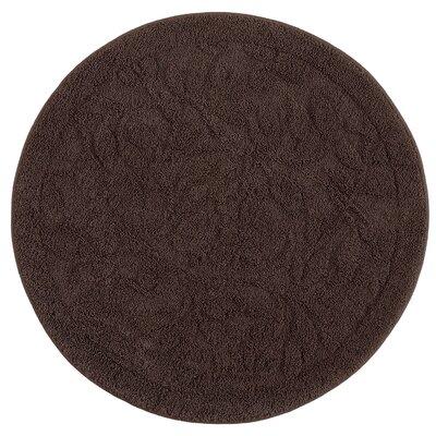 """Berger Sage Bath Mat Size: 36'' H x 36"""" W x 0.47"""" D, Color: Chocolate"""