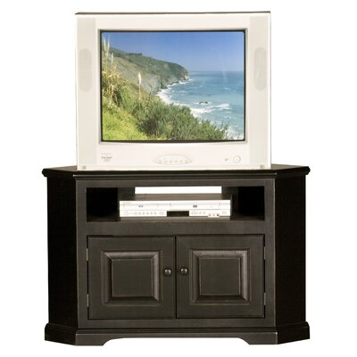 "Amara 41"" TV Stand Color: White, Door Type: Wood"