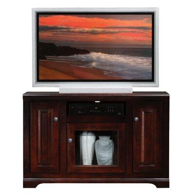 """Locher 45.5"""" TV Stand Door Type: Glass, Color: Summer Sage"""