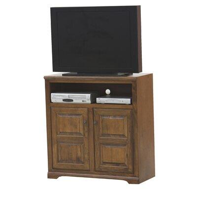 "Verna 41"" TV Stand Color: Smoky Blue, Door Type: Raised Panel"