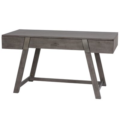 Petersen Writing Desk Finish: Gray