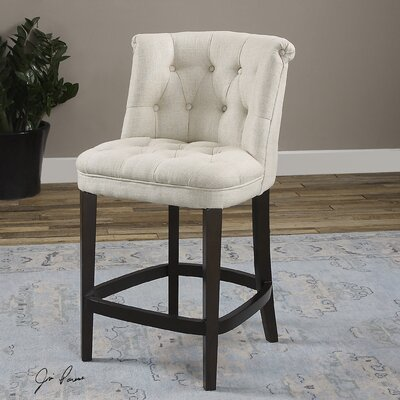 Braeswood Tufted Counter Stool