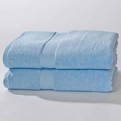 Bloomberg Terry Cloth Bath Sheet Color: Sky Blue