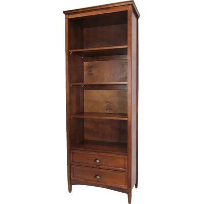 Pineview Standard Bookcase Finish: Brown