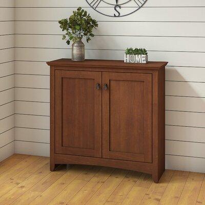 Fralick 2 Door Accent Cabinet Color: Serene Cherry