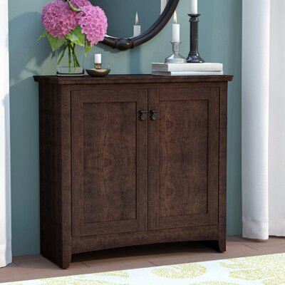 Fralick 2 Door Accent Cabinet Color: Madison Cherry