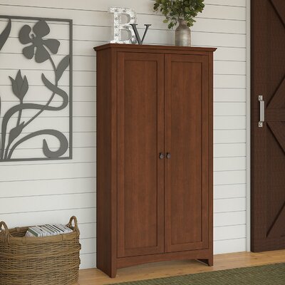 Fralick 2 Door Accent Cabinet Color: Serene Cherry