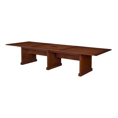 "Christofor Modular Rectangular Conference Table Size: 29"" H x 50"" L x 144"" W"