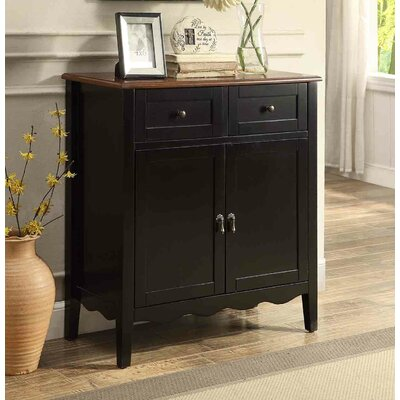 Brownell Accent Cabinet Color: Black