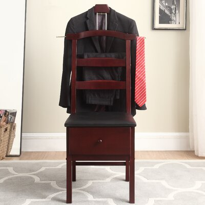 Westbrook Chair Valet Stand Finish: Mahogany