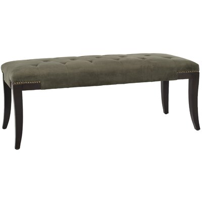 Adele Bedroom Bench Upholstery: Cotton Graphite
