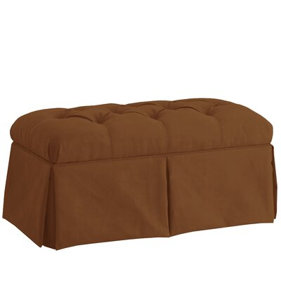 Diana Storage Bench Color: Premier Chocolate