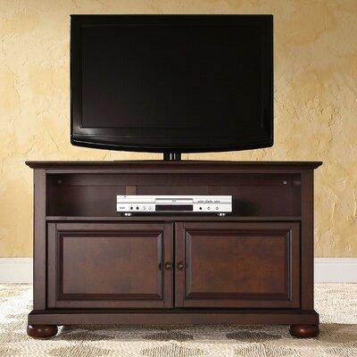 """Claribel 42"""" TV Stand Color: Vintage Mahogany"""