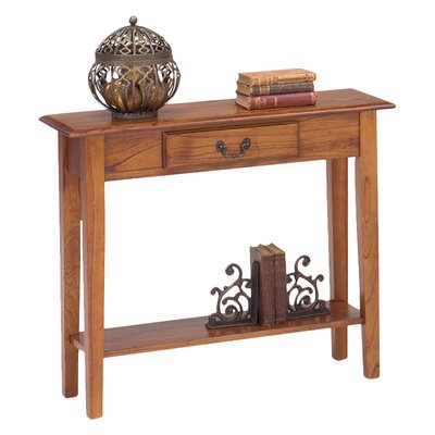 Revere Traditional Console Table Color: Chestnut