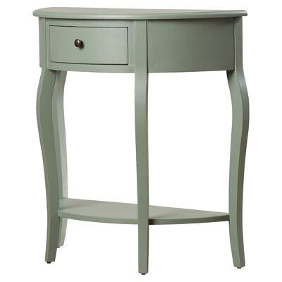 Benton Console Table Color: Dusty Green