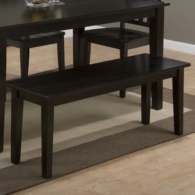 Antrim Wood Bench Finish: Espresso