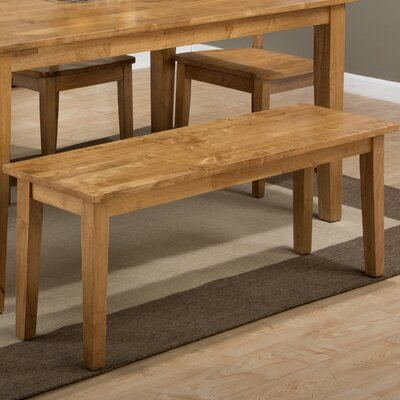 Antrim Wood Bench Finish: Honey