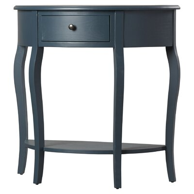 Benton Console Table Color: Slate Teal