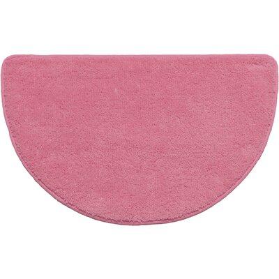 Arata Slice Bath Rug Color: Rose