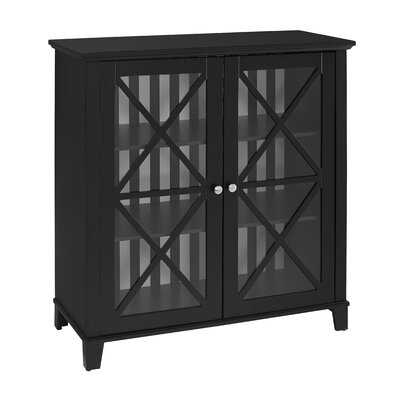 Bridwell Stripe 2 Door Accent Cabinet