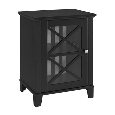 Bridwell Stripe 1 Door Accent Cabinet
