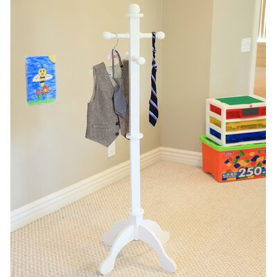 Waterbury Kid's Deluxe Coat Rack Finish: White