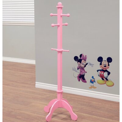 Waterbury Kid's Deluxe Coat Rack Finish: Pink