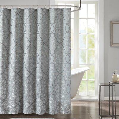 Birch Lane Shower Curtain Color: Silver/Gray