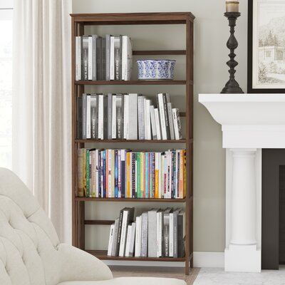 Winnetka Etagere Bookcase Color: Walnut