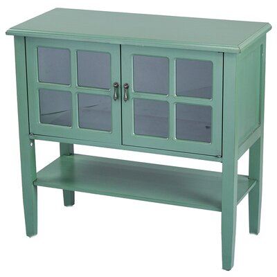 Rhinelander 2 Door Accent Cabinet Color: Light Green