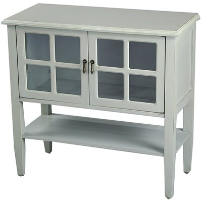 Rhinelander 2 Door Accent Cabinet Color: Sea Foam Green