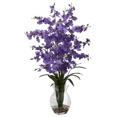 Dancing Lady Orchid in Vase Color: Purple