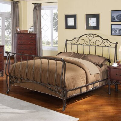 Croftshire Sleigh Bed