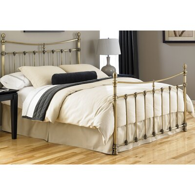 Argent Panel Bed Size: King