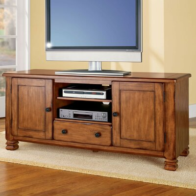 "Brackenridge 54"" TV Stand Color: Medium Brown"