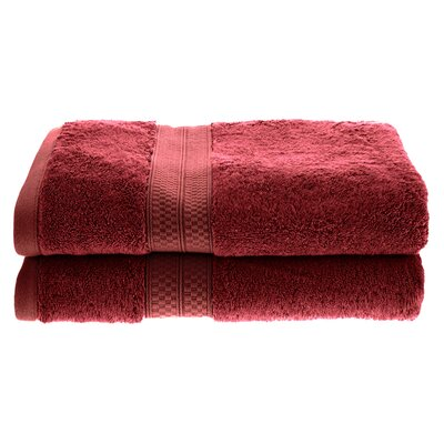 Patric Rayon from Bamboo Bath Towel Color: Crimson
