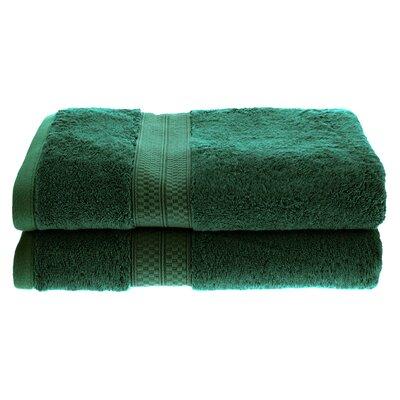 Patric Rayon from Bamboo Bath Towel Color: Hunter Green