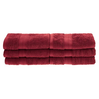 Patric Rayon from Bamboo Hand Towel Color: Crimson