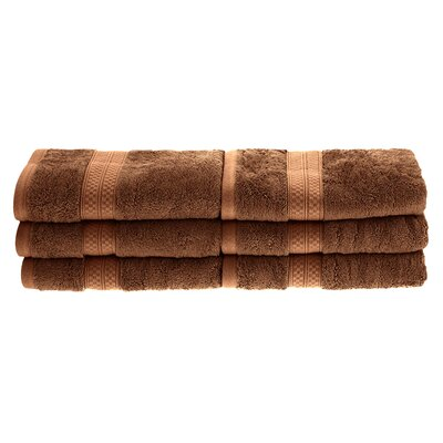 Patric Rayon from Bamboo Hand Towel Color: Cocoa