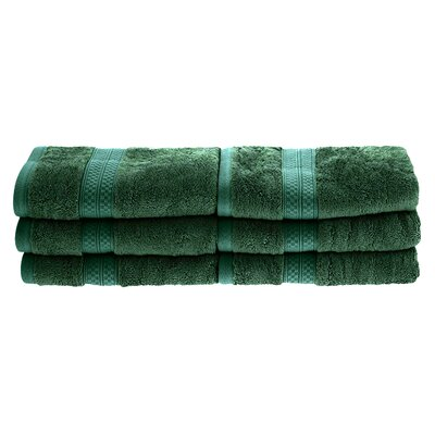 Patric Rayon from Bamboo Hand Towel Color: Hunter Green