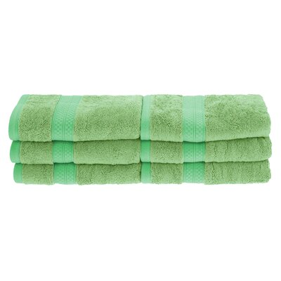 Patric Rayon from Bamboo Hand Towel Color: Spring Green