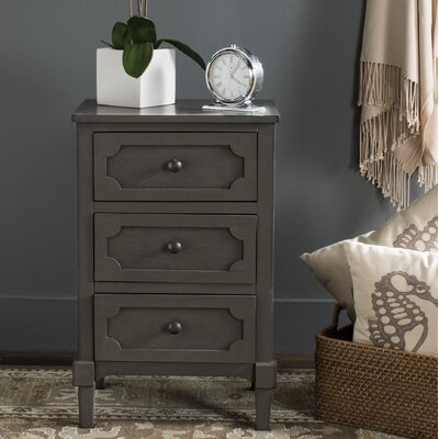 Fredericktown 3 Drawer Accent Chest Color: Gray