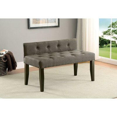 "Cantor Contemporary Wood Bench Size: 26"" H x 42"" W x 20.5"" D"