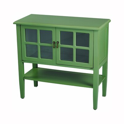 Rhinelander 2 Door Accent Cabinet Color: Green