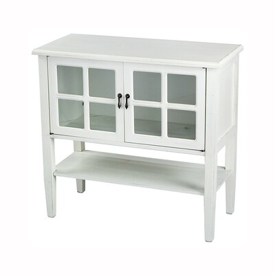 Rhinelander 2 Door Accent Cabinet Color: White