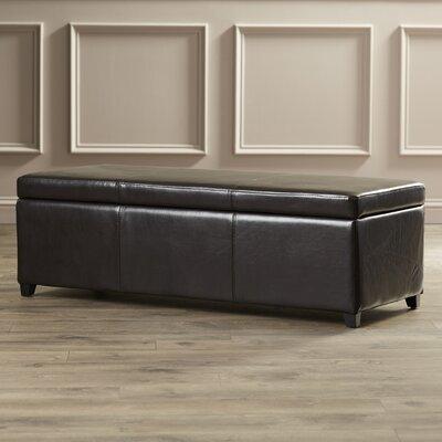 Ephraim Leather Storage Bench